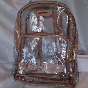 Clear Backpack by Rampage
